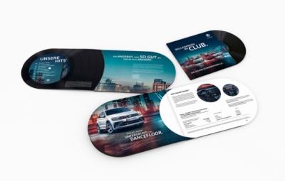 Laura Bender Design Portfolio - Volkswagen Mailing Sound Sondermodelle 2017