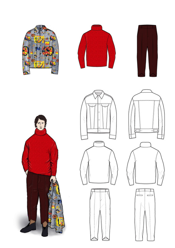 Cecilia Tutti - First look and flat sketches