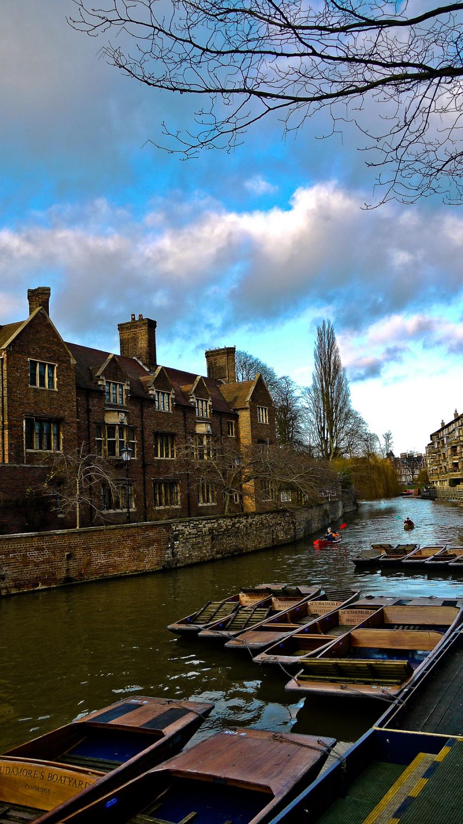 Caught In Time - Cambridge
