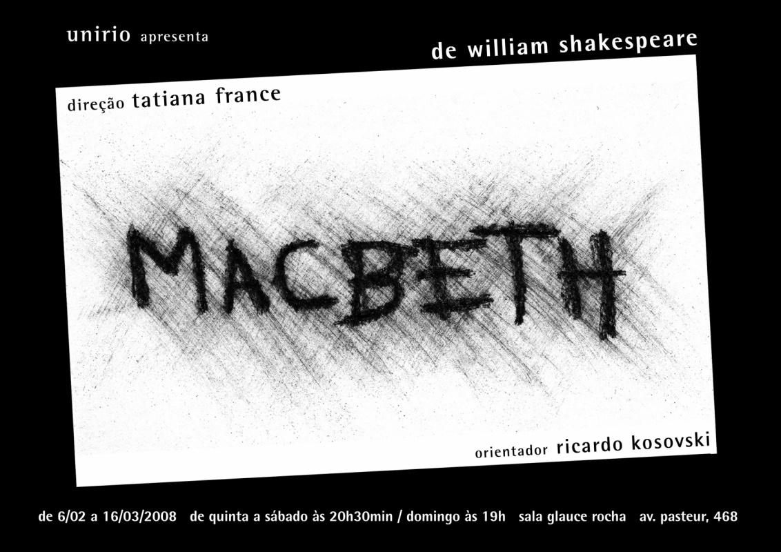 Marieta Spada - cartaz do espetáculo