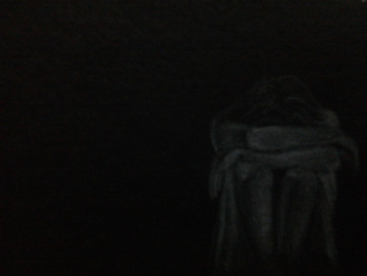 look for me_gha - Charcoal drawing_20x30cms.