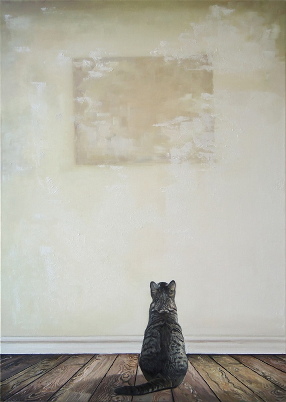 Timothy Adam Matthews - Feline Feeling - 50x70cm