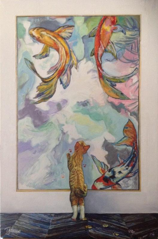 Timothy Adam Matthews - Gallery Cat - 20x30inch