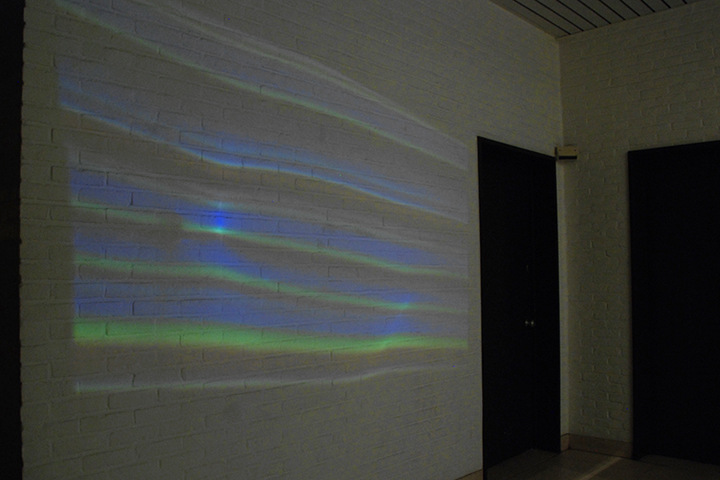 Karolien Chromiak - Reverberation (Phi), installation view, 2013