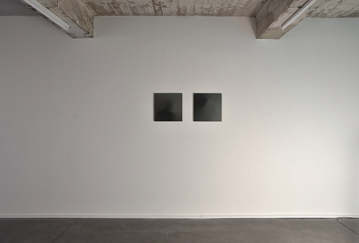 Karolien Chromiak - Hypercube 1 & 2, digital drawing printed on aluminum, 2015