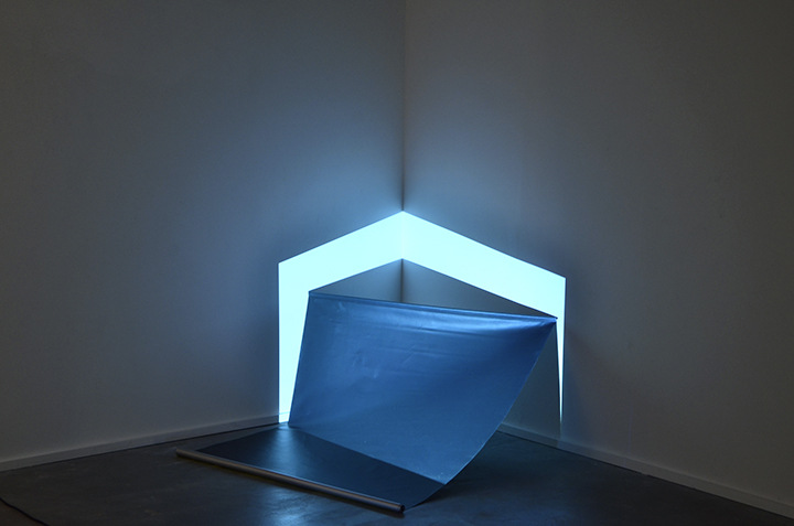 Karolien Chromiak - Emission/ Burst, installation view, 2015