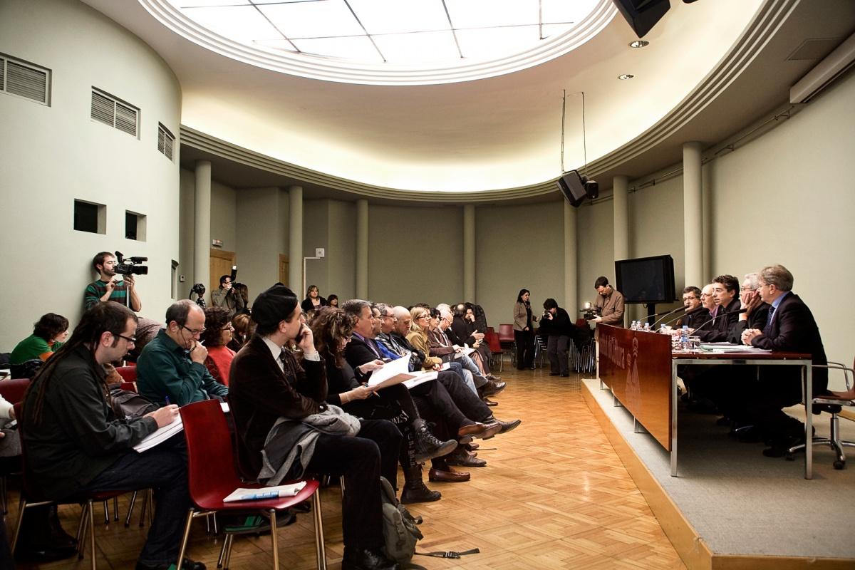 westudio fotografía - Rueda de prensa, Associació dActors i Directors Professionals de Catalunya