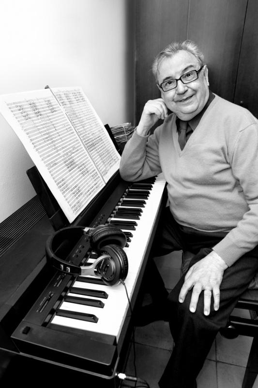 westudio fotografía - Joan Guinjoan, músic i compositor