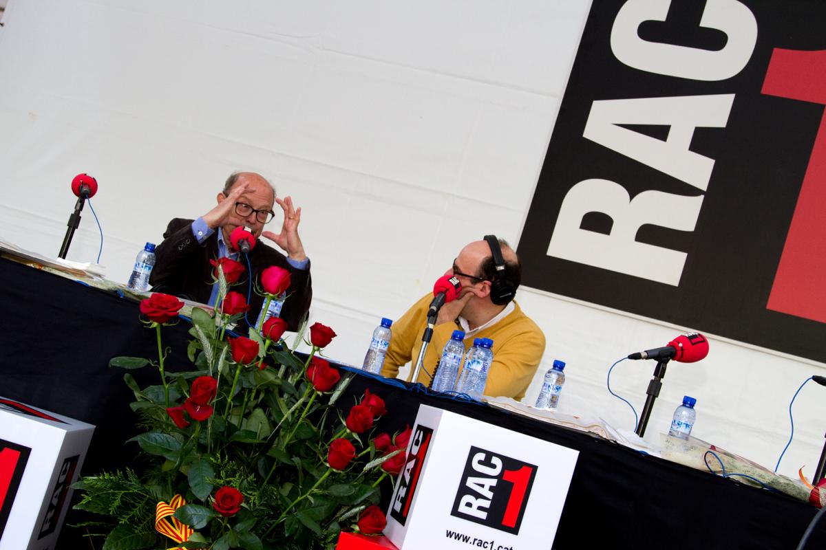 westudio fotografía - Diada de Sant Jordi, RAC1