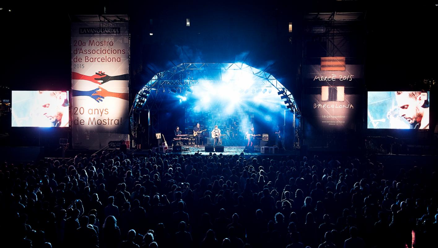westudio fotografía - Concert de la Mercè, RAC105