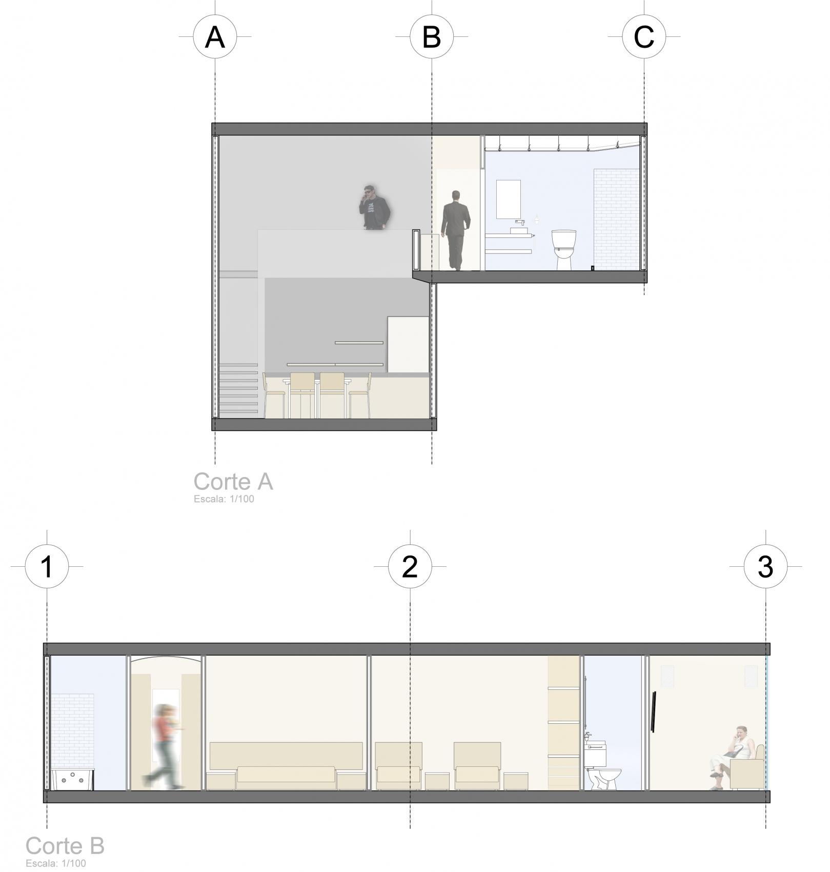 Torre xzavaleta adaptable for Arquitectura nota de corte