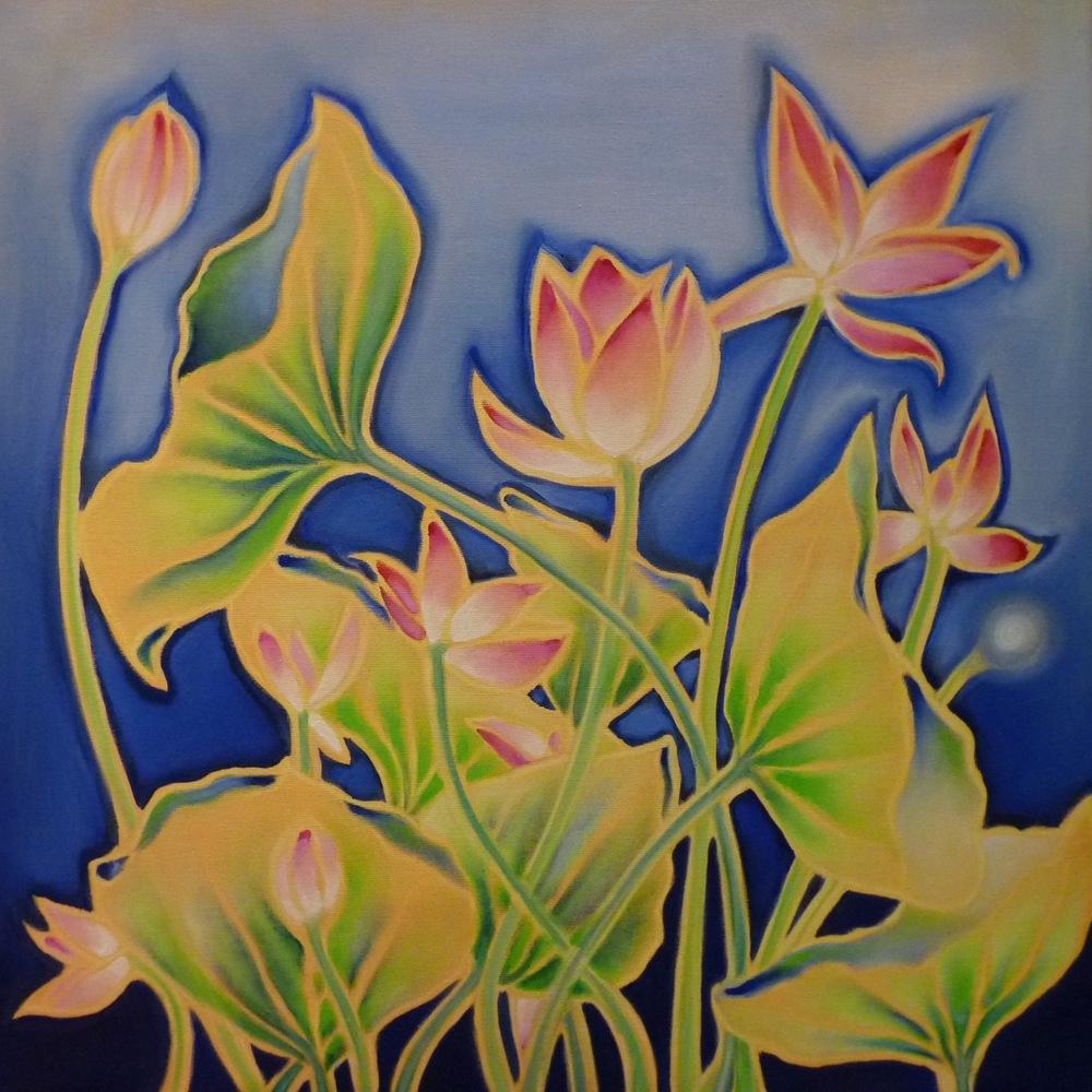 ida romiti - loto. olio su tela.2015. 60x60