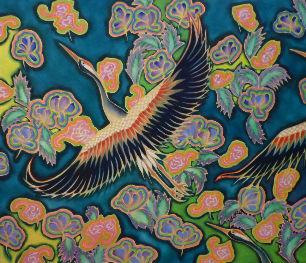 ida romiti - volando. olio su tela.2015. 60x70