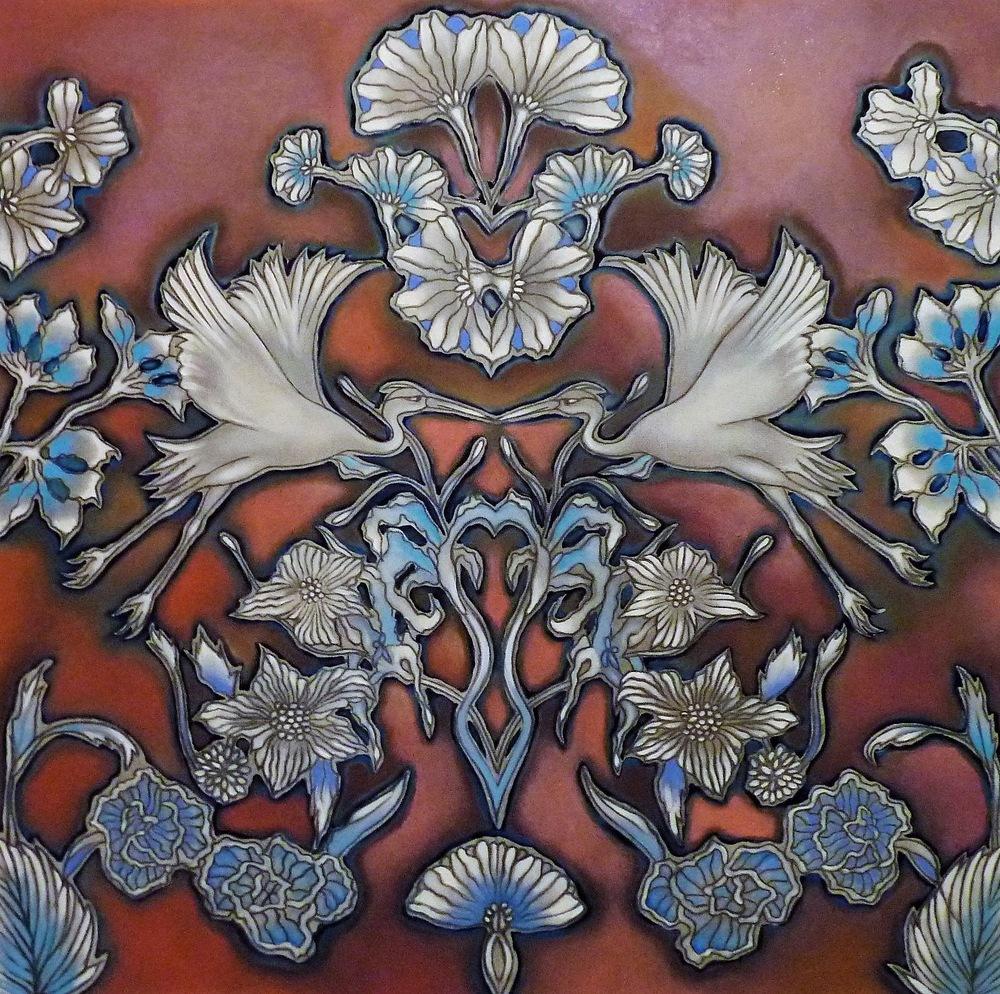 ida romiti - scambi. olio e grafite su tela. 2015 60x60