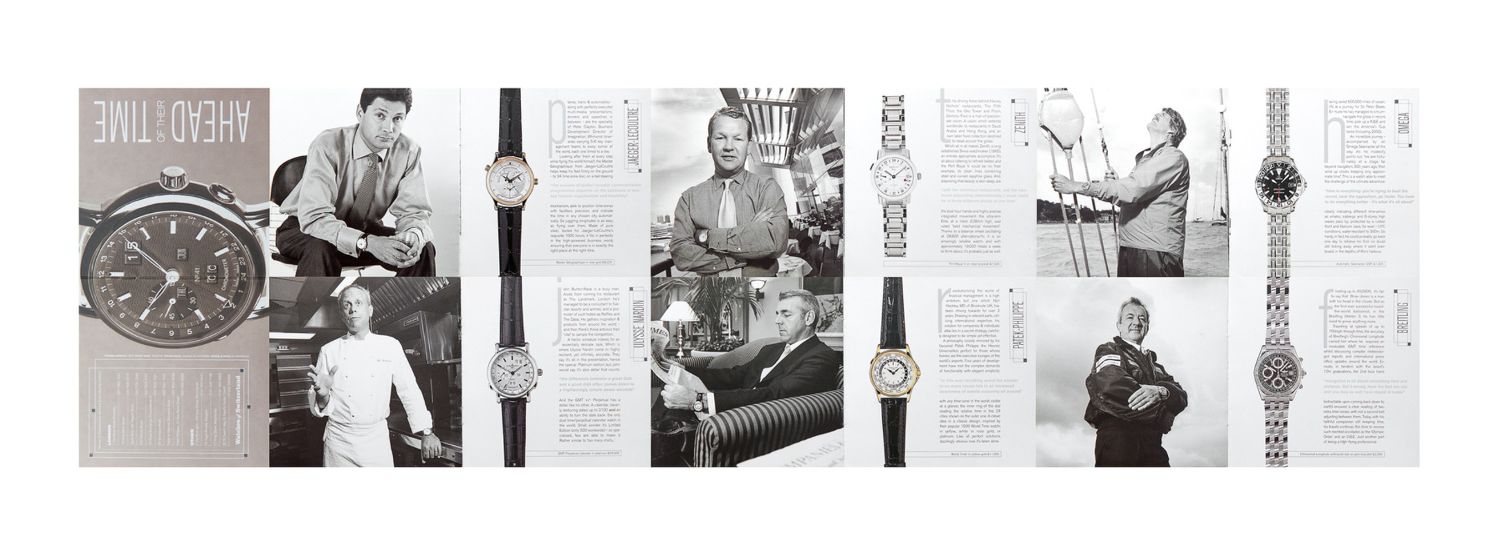 BASE STUDIOS - WATCHES OF SWITZERLAND - CONDE NAST TRAVELLER