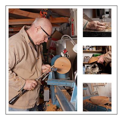 Southmag Photography - Wood Turner