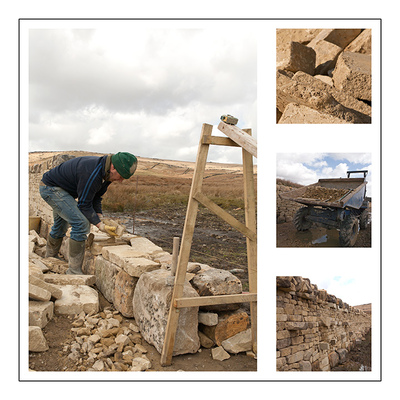Southmag Photography - Dry Stone Waller