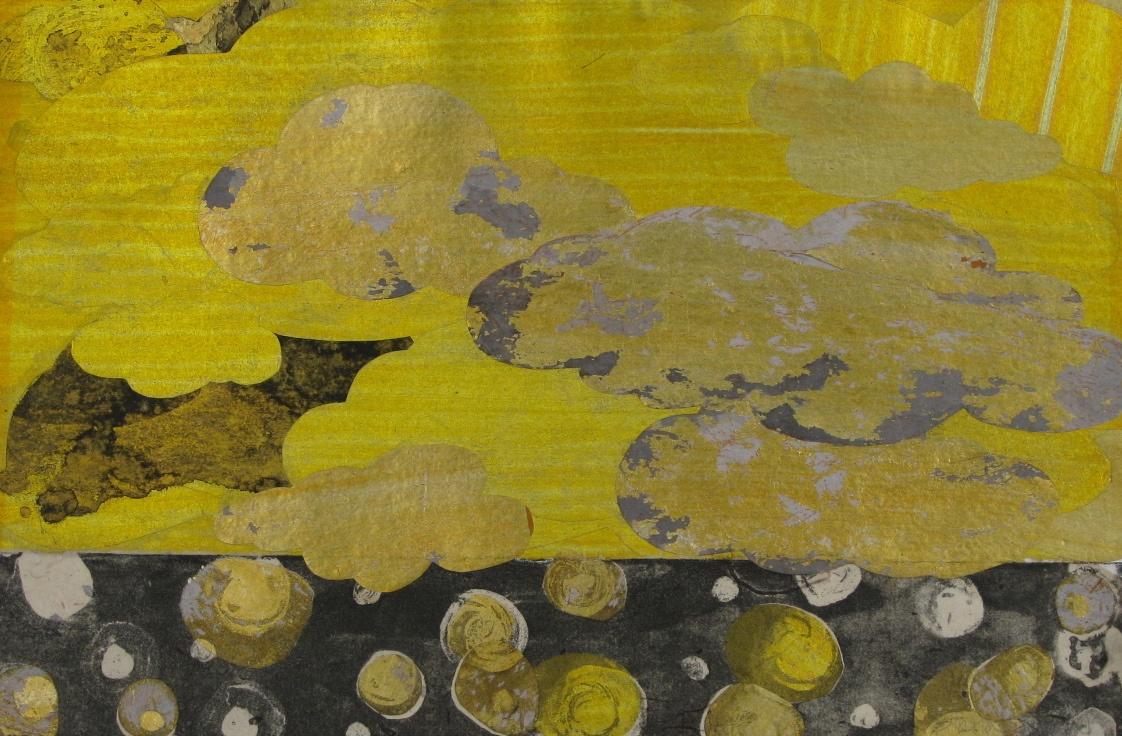 DIANA DAYMOND ART AND DESIGN - GOLDEN RAIN