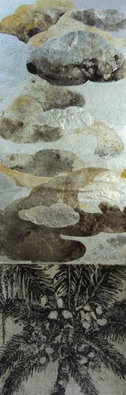 DIANA DAYMOND ART AND DESIGN - STORMY PALM