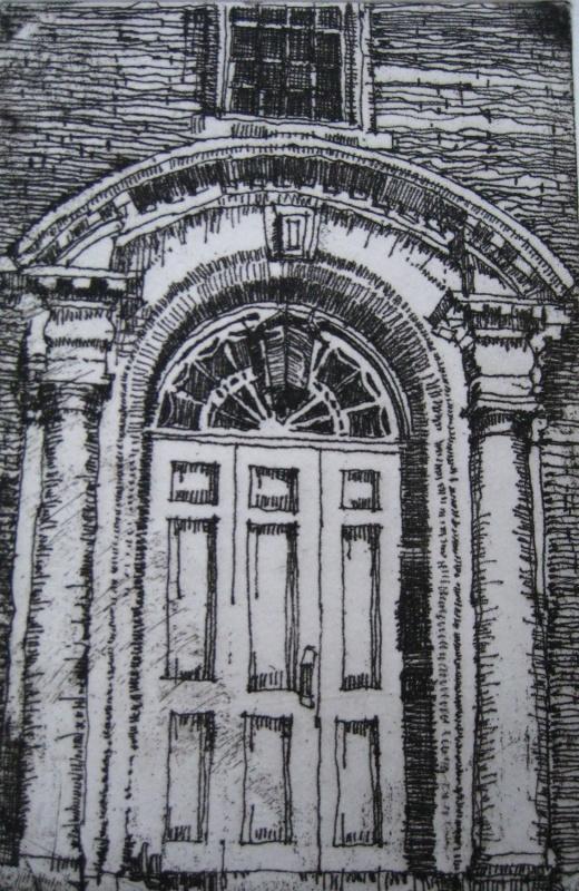 DIANA DAYMOND ART AND DESIGN - SEVERANCE HALL DOOR