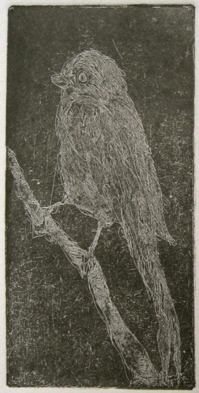 DIANA DAYMOND ART AND DESIGN - BLACKBIRD