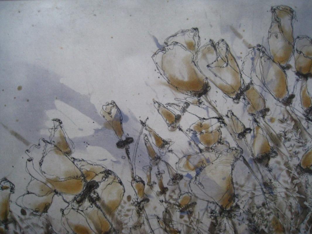 DIANA DAYMOND ART AND DESIGN - YELLOW POPPIES