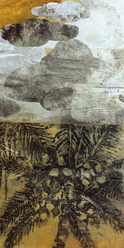DIANA DAYMOND ART AND DESIGN - GOLDEN PALM