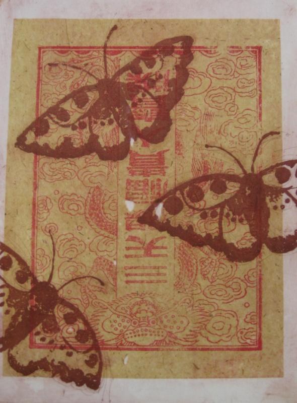 DIANA DAYMOND ART AND DESIGN - CHINESE BUTTERFLIES