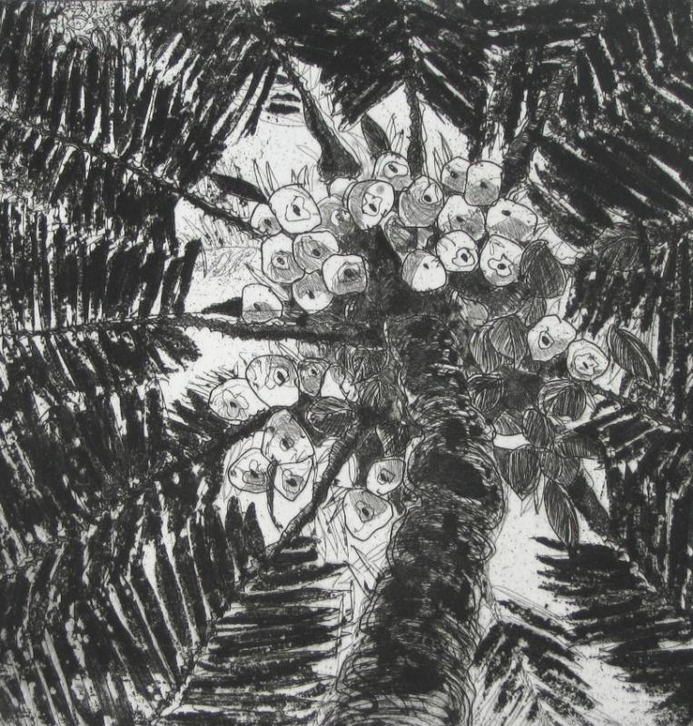 DIANA DAYMOND ART AND DESIGN - COCONUT FALL