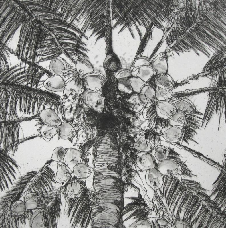 DIANA DAYMOND ART AND DESIGN - UPLIFTING PALM