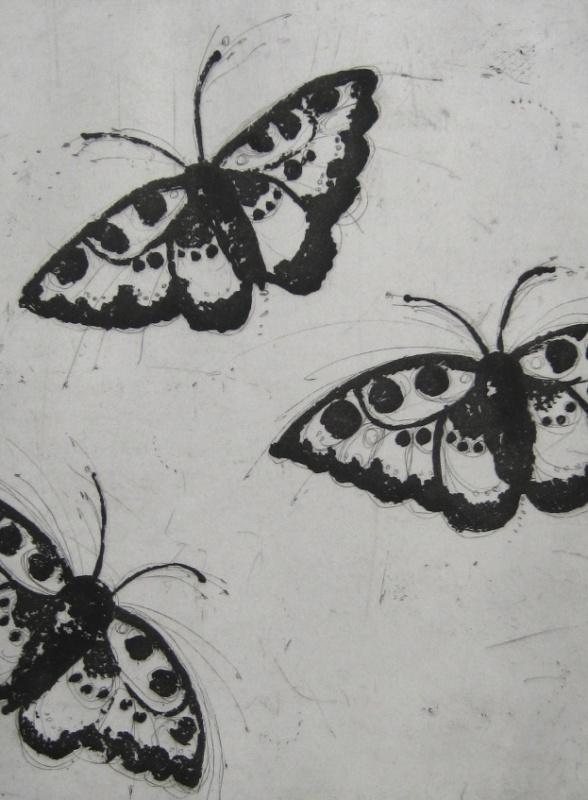 DIANA DAYMOND ART AND DESIGN - LIGHT BUTTERFLIES