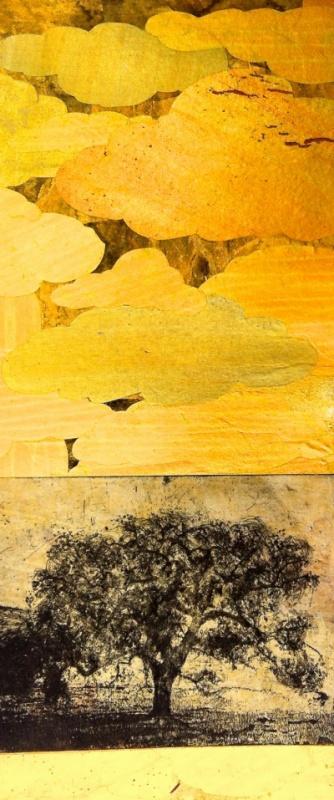 DIANA DAYMOND ART AND DESIGN - GOLDEN BLUE OAK