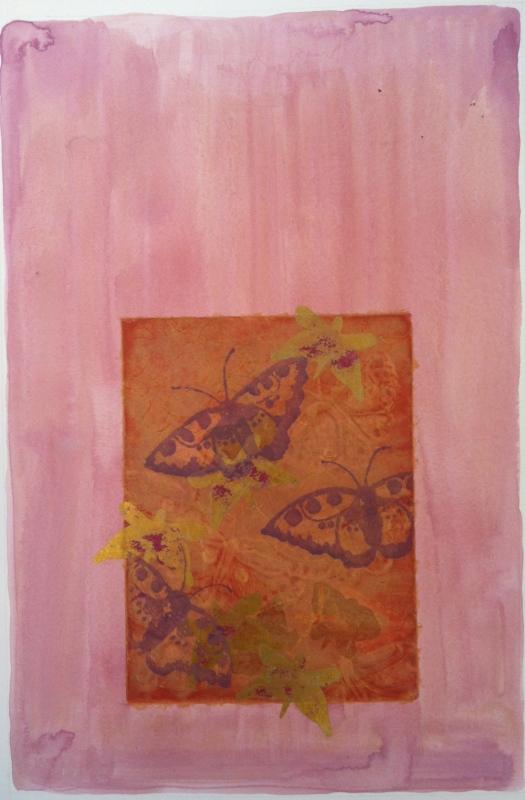 DIANA DAYMOND ART AND DESIGN - PERANAKAN BATIK BUTTERFLIES