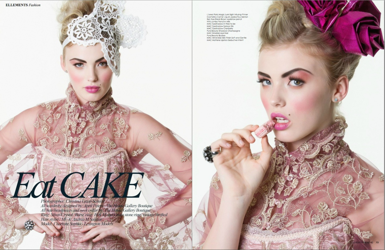 Make Up by ASM - Ellements Magazine - May Issue, Book 2 © 2013 Christina Lazar-Shuler Photography
