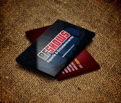 Advertising and Designer - BF Shows - Cartões de visita (Arnold Classic Brasil 2013)