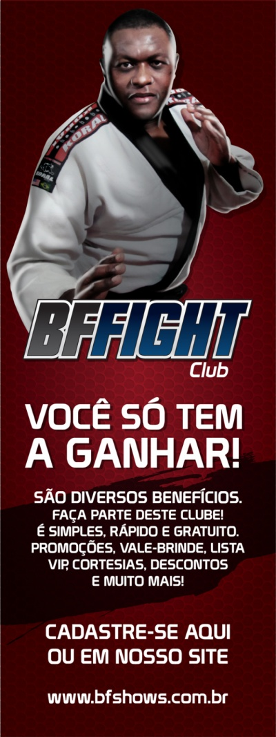 Advertising and Designer - BF Fight Club - Banner (Arnold Classic Brasil 2013)