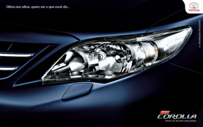 Advertising and Designer - Email MKT TOYOTA COROLLA