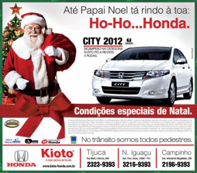 Advertising and Designer - Anuncio Honda Kioto