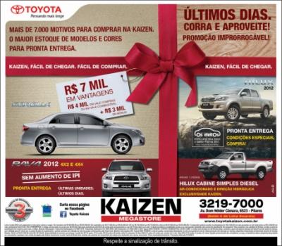 Advertising and Designer - Anuncio Toyota Kaizen