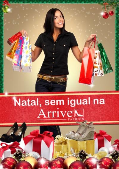 Advertising and Designer - Lâmina Lojas Arrive Fashion
