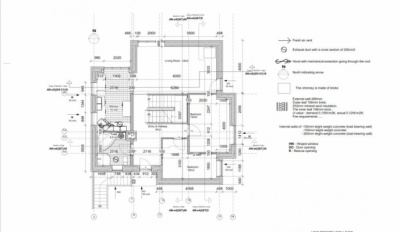 Alex_Anitei_portfolio - Ground floor plan 1:100