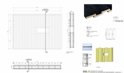 Alex_Anitei_portfolio - Prefabricated wood element(production drawing)