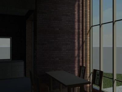 Alex_Anitei_portfolio - 3D View Dinning Room