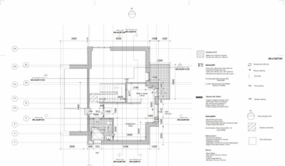 Alex_Anitei_portfolio - 1st floor plan 1:100