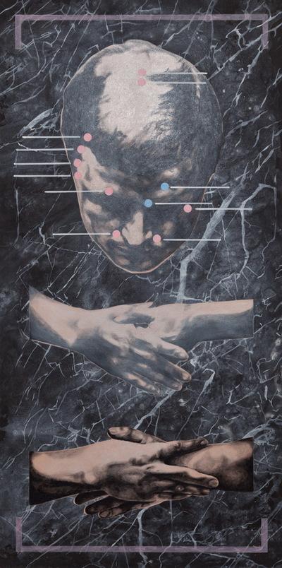 Agata Kleczkowska - painting // malarstwo - Acrylic on canvas, 100x50