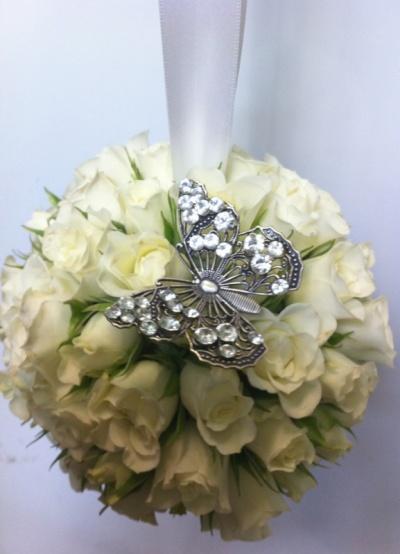 Curvaceous Design Portfolio - Curvaceous Design butterfly floral interest.