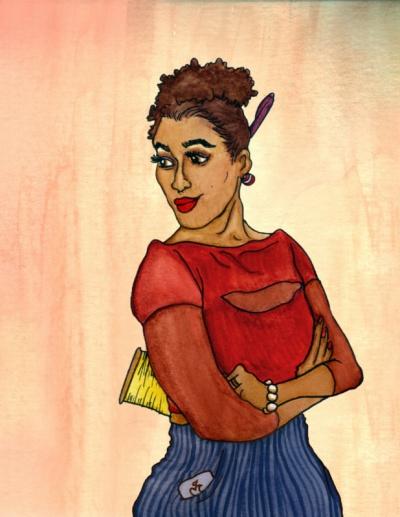 Johnetta Queen - Illustrator -