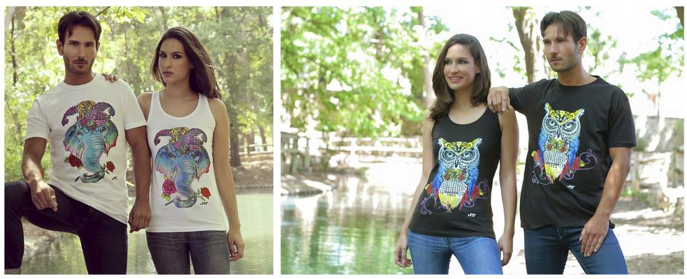 DiegoMartinezSanchez - Campaña camisetas diseñadas por Susi Torres Espejo (Diseñadora de Francis Montesinos) Fotografia: Pas Ibañez y Cristian Lazaro