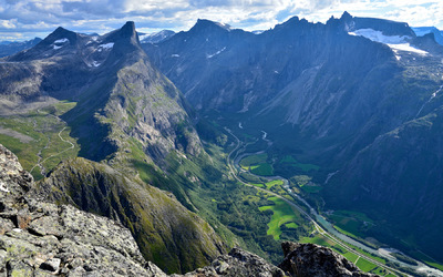 EPIC FJORDS - The Romsdalen Valley seen from Mt. Blånebba