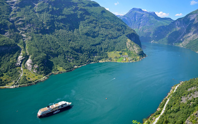 EPIC FJORDS - The Geirangerfjord seen from Westerås